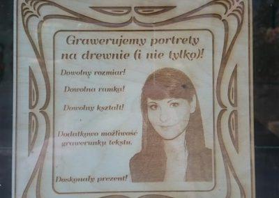 tabliczka portret